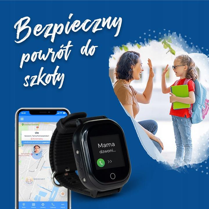 Zegarek GPS dla dziecka – bezpieczeństwo pod kontrolą